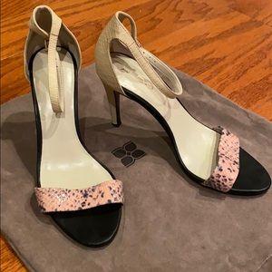 """ALDO 4"""" Tri-color Heels"""